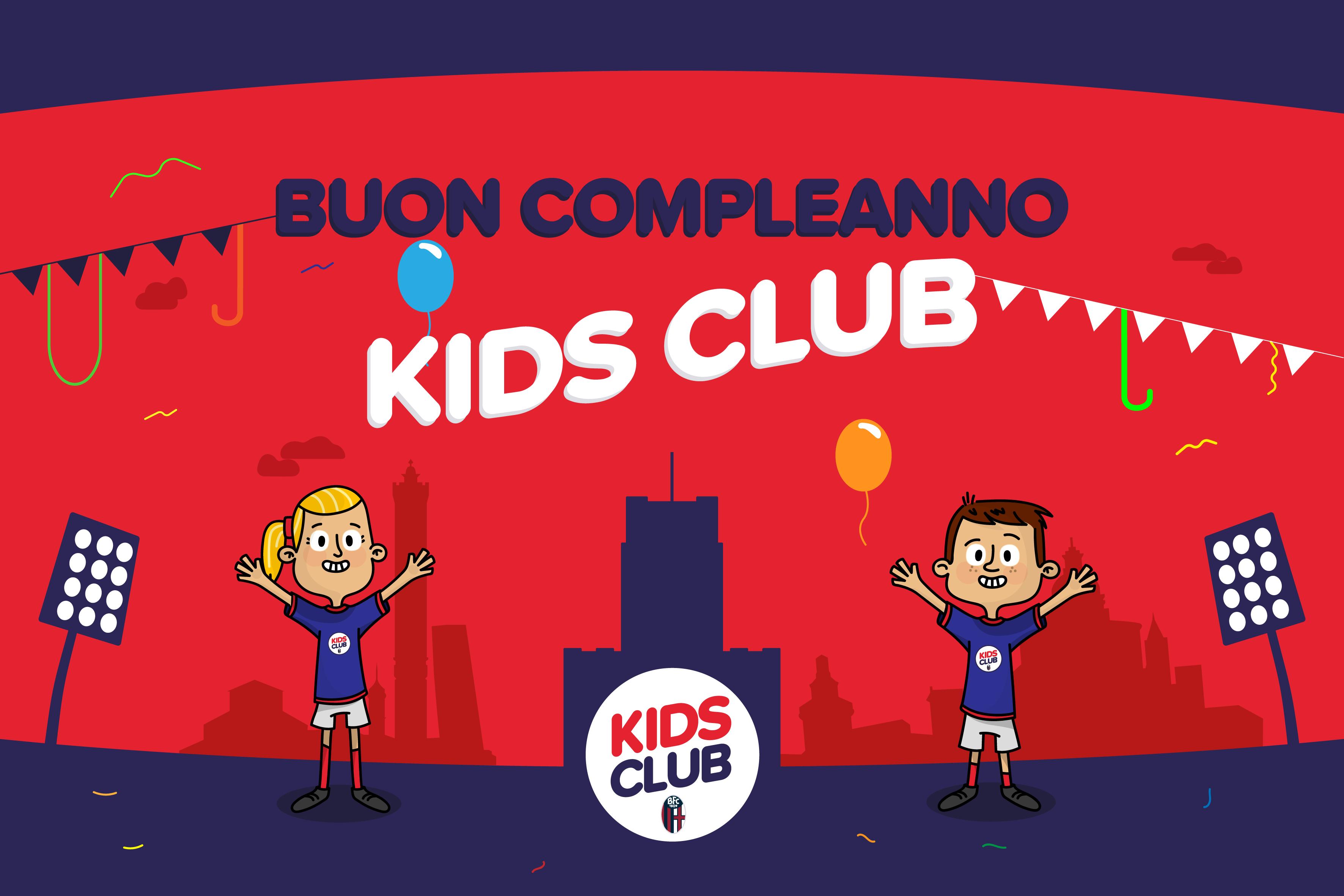 Buon Compleanno Kids Club Kids Club